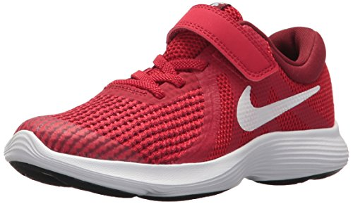 Nike Unisex Baby Revolution 4 (TDV) Hausschuhe, Rot (Gym Red/White-Team R 601), 22 EU -