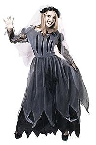 I Love Fancy Dress. ilfd4550X L Disfraces de Novia cadáver (XL)