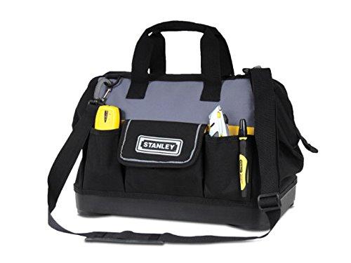 #Stanley Werkzeugtasche, 44.7×27.5×23.5 cm, 600 Denier Nylon, verstellbarer Schultergurt, wasserdicht, 1-96-183#