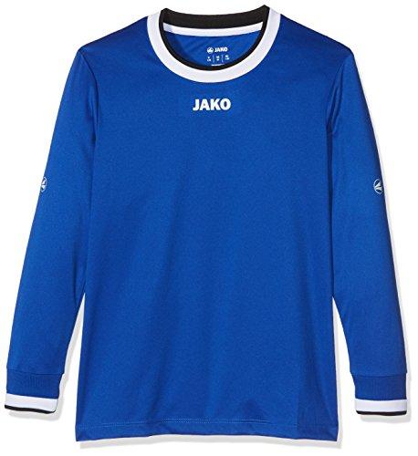 JAKO Kinder Fußballtrikots LA Trikot United, Royal/Weiß/Schwarz, 164, 4383