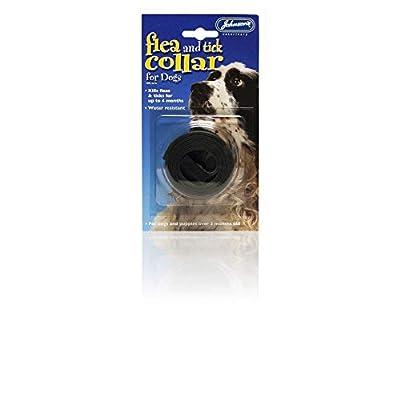 Johnsons Veterinary Products JVP Waterproof Dog Flea & Tick Collar by Johnsons Veterinary Products