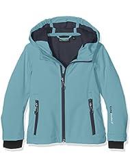 CMP Softshell 3a29385N para niña, Otoño-invierno, niña, color Clorophilla-Asphalt, tamaño 176