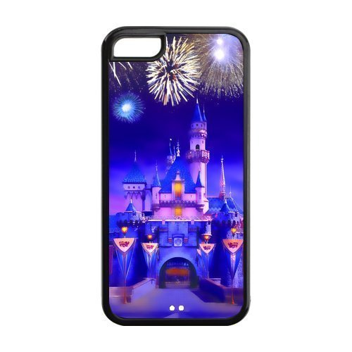 Disney Dream Castle TPU Protective Case For Iphone 5c