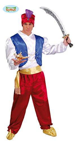 Guirca Costume Aladino Genio della Lampada,, Taglia Unica, 80501