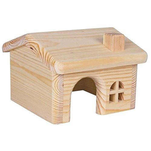 Trixie Maison en bois pour Micand hamsters, 15x 11x 15cm