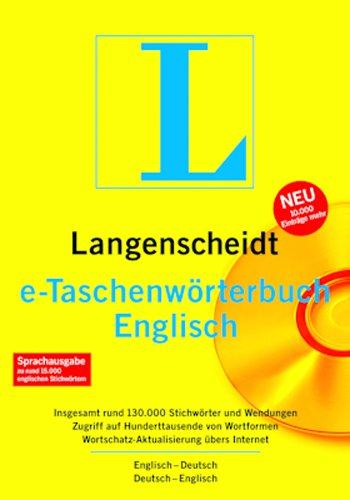 Langenscheidt e-Taschenwörterbuch Englisch [Download]