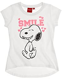 Snoopy Fille Tee-shirt 2016 Collection - blanc