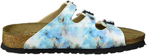Papillio Florida Birko-Flor Softfootbed, Mules Femme, Pixel Rose Mehrfarbig (Pixel Blue)