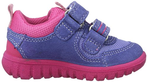 Superfit Sport7 Mini, Chaussures Marche Bébé Fille Violett (lila Kombi)