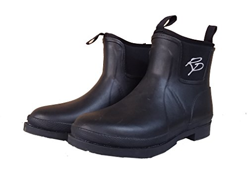SK Rider Pro Mucker Cork d'équitation Bottes/Boots/bottes en caoutchouc–femme/enfant Noir Noir - Noir