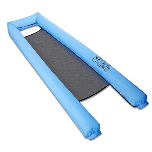 CHEEFY Wasserhängematte Aufblasbares Schwebebett, Wasser AufblasbareI Luftmatratze für Sommer, Transportabler Wasserliege für Wasserspaß