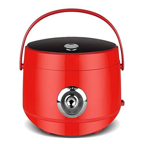 CN Mini-Reiskocher Kleine Multi-Funktions-Reiskocher Kleingeräte,rot,1