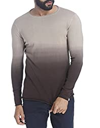Jack & Jones Mens Cotton Sweatshirt (1828685_Beige_X-Large)