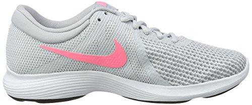Nike Revolution 4 EU, Scarpe Running Donna Grigio (Dark Grey/pure Platinum-cool Grey-white 016)