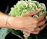 Armband mit echten Blumen - Ginster