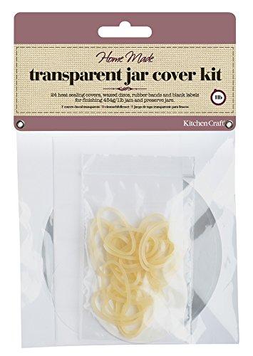 Kitchen Craft Home Made Einmachfolien-Set für 454-g-Marmeladengläser, 24er-Pack - Jam Pot