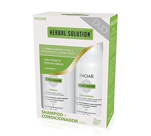 Inoar Herbal Shampoing et Conditioner 2 x 250ml