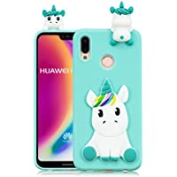 Everainy Huawei P20 Lite Silikon Hülle Ultra Slim 3D Einhorn Muster Ultradünn Hüllen Handyhülle Gummi Case Huawei... preisvergleich bei billige-tabletten.eu