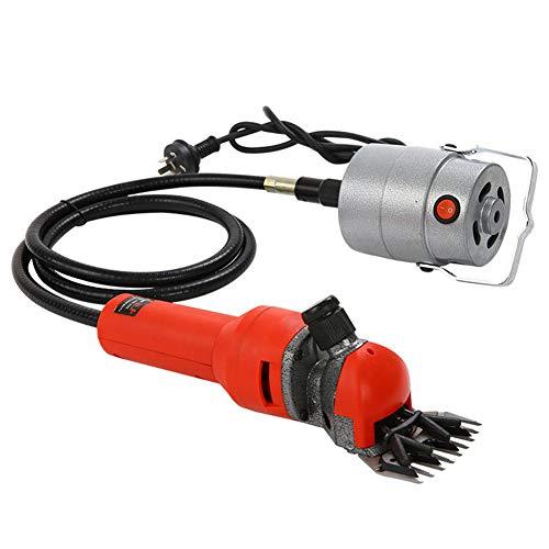 BOFEISI Flexible Welle Elektrische Schafschere, Ziegen Clipper 110-240V 750W 13 Zähne Professionelle Pflege Haarschnitt Trimmer Wolle Schere,UK