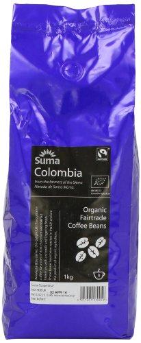 Suma Fairtrade Organic Colombia Cosurca Coffee Beans 1 kg 41kwzUbmJWL