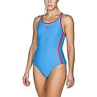 arena Damen Sport Badeanzug Hyper (Schnelltrocknend, UV-Schutz UPF 50+, Chlor- /Salzwasserbeständig)