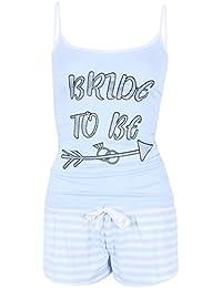 El pijama azul Bride to be PRIMARK