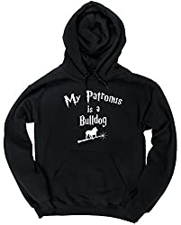 HippoWarehouse My Patronus Is A Bulldog unisex Hoodie hooded top