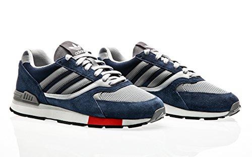 2a2a35fbd06a adidas Originals Quesence, Collegiate Navy-Scarlet-Grey Two Blue ...