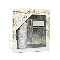 Khalis Musk by Lattafa for Unisex Giftset, Eau de Parfum 100ml and Deodorant Spray 50ml