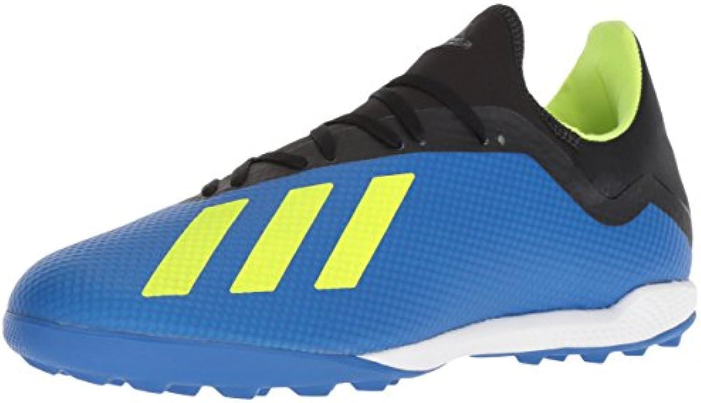 Adidas Men's X Tango 18.3 Turf Soccer scarpe, Football blu Solar giallo nero, 10.5 M US   Affidabile Reputazione    Uomo/Donne Scarpa