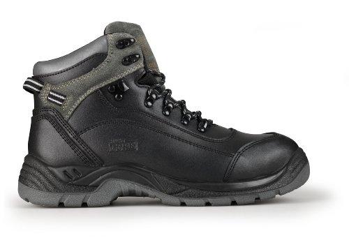 Proteq Sicherheitsschuhe Tonalite S1p, Chaussures de sécurité mixte adulte Noir (Black)