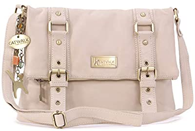 Catwalk Collection Handbags Women's Abbey Cross-Body Bags