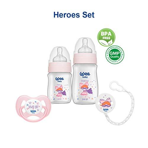 Wee Baby Heroes regalo alimentacion biberona recien