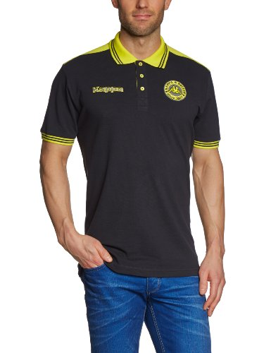 Kappa Polo Shirt Soccer Black