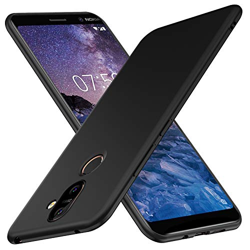 Cover nokia 7 plus,nokia 7 plus custodia, ibetter nokia 7 plus protettiva custodia, protezione durevole, compatibilita esatta per la nokia 7 plus smartphone.(nero)