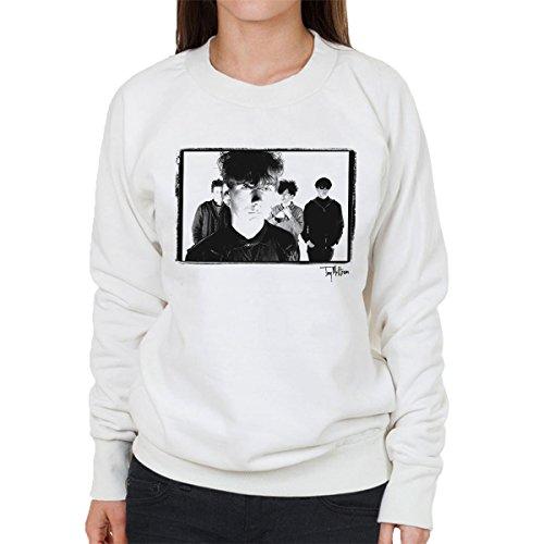 Tony Mottram Official Photography - Jesus And Mary Chain Band Shot Jim Reid Close Up Women's Sweatshirt