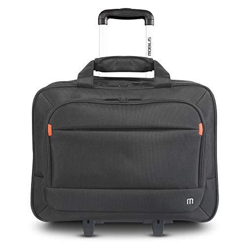 Mobilis Trolley Sacoche à roulettes pour ordinateur portable 14-16'' - Noir