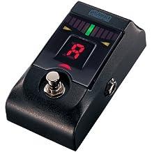 Korg KORG-PITCHBLACK - Afinador crómatico para guitarra y bajo (display LED, de aluminio), color negro