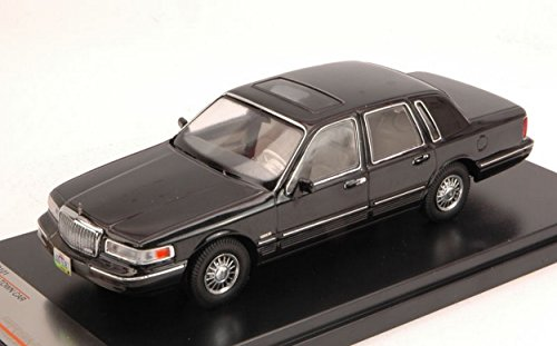 premiumx-prd101-lincoln-town-car-1996-black-143-modellino-die-cast-model