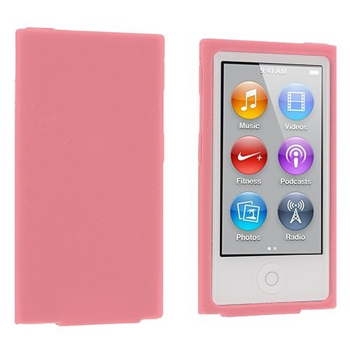 Eightnice (TM) Farbe Silikon Weich Gummi Gel Skin Schutzhülle Für iPod Nano 7th Generation 7 G 7 Ipod Nano Skin