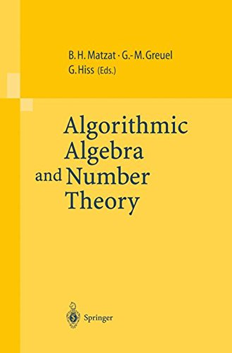 Algorithmic Algebra and Number Theory: Selected Papers From a Conference Held at the University of Heidelberg in October 1997
