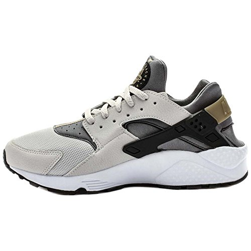Nike Air Huarache, Baskets Basses Homme Negro / Gris (Light Ash Grey / Black-Cool Grey)