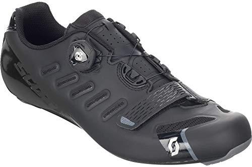 Scott, Road Team Boa, Scarpe da ciclismo, modello 2018, colore nero, matt black/gloss black, 42