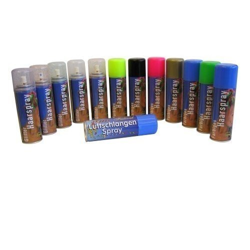 Idena Color Haarspray 125ml Farbe: grün