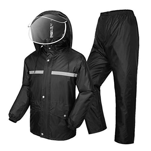 LYP-Rainwear Combinaison de Pluie Type de Split Hommes...