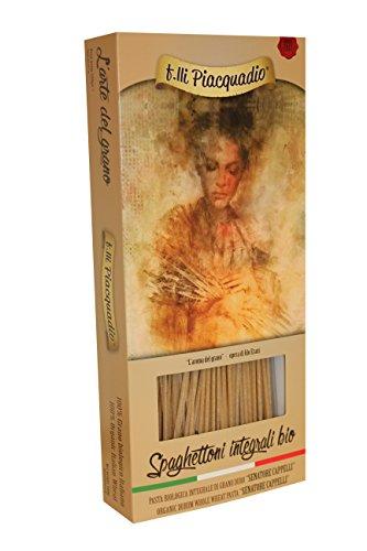 n.8 x 500g Pasta INTEGRALE BIO Senatore Cappelli: n.2 Spaghettoni - n.2 Penne Rigate- n.2 Mezze Maniche - n.2 Tubetti