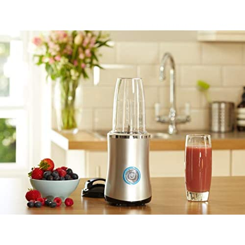 Nutri Bullet Blender with LED Switch, Silver