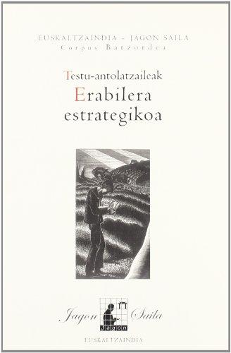 Testu-antolatzaileak: erabilera estrategikoa (Jagon) por Batzuk