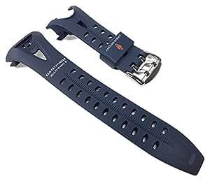 Casio Uhrenarmband Resin Band Ersatzband Blau für SPW-1000 PRG-1200
