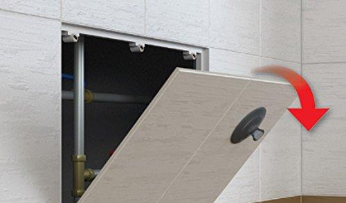 Revisionstür Revisionsklappe magnetisch befliesbar : 300 x 300mm
